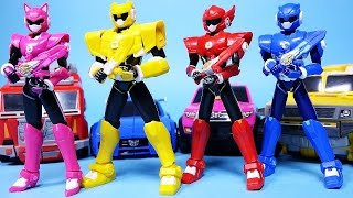 MiniForce Power Rangers Dino Charge figures toys play