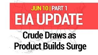 EIA UPDATE - EIA Crude Draws as Product Builds Surge 06/10/2021 #200-1