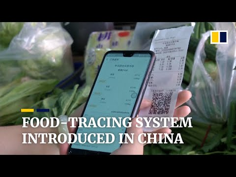 Food tracing system a hit with customers at supermarkets in northwestern China