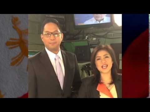 Paolo Bediones and Cherie Mercado Welcome President Obama to the Philippines