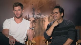 Chris Hemsworth, Michael Pena Are 'Proud' To Tell The True Story Behind '12 Strong'