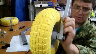 как самому сделать транцевые колеса для лодки