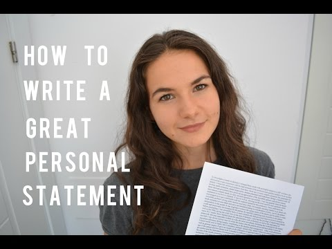 How to write a Veterinary Medicine personal statement / General tips