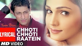 Download Chhoti Chhoti Raatein Full Song with Lyrics | Tum Bin | Priyanshu Chatterjee, Sandali, Himanshu MP3 song and Music Video