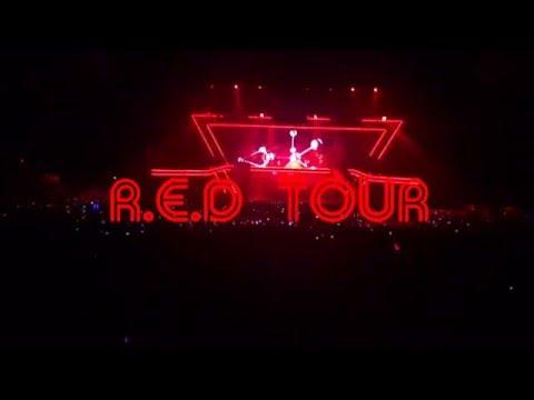 M Pokora - R.E.D TOUR - Paris AccorHotels Arena le 12/12/2015