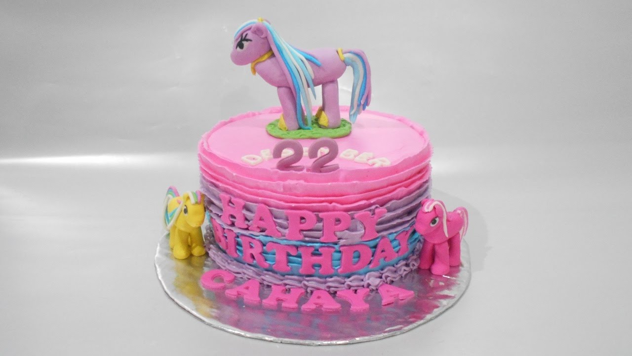 Cake My Little Pony Longish Simple How To Make Youtube