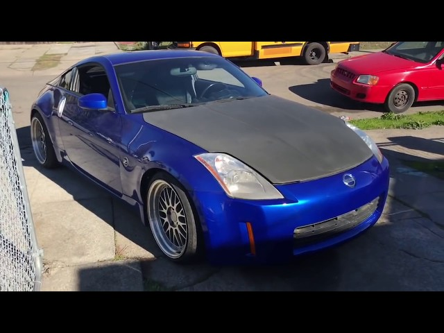1 week of owning the 350Z