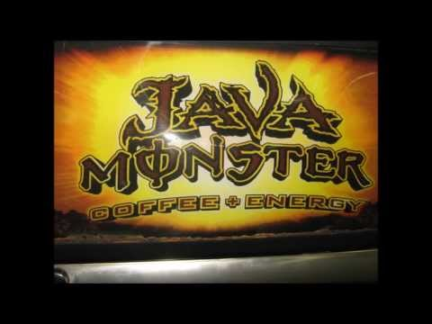 for sale:  Java Monster mini fridge ~  (coffee + energy) ~   $125 00  ~ possible garage fridge