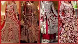 Latest beautiful heavy fancy bridal dress designs stylish designer dress design
