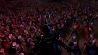 This video is of the game Lord of the Rings Battle for Middle Earth.