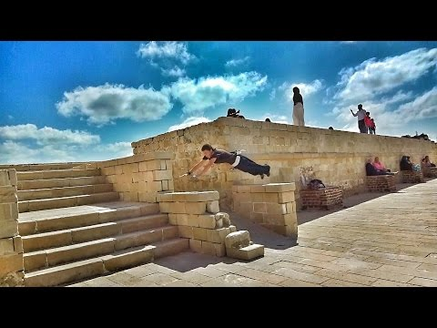 Parkour and Freerunning | Egypt Alexandria Qaietbay Castle