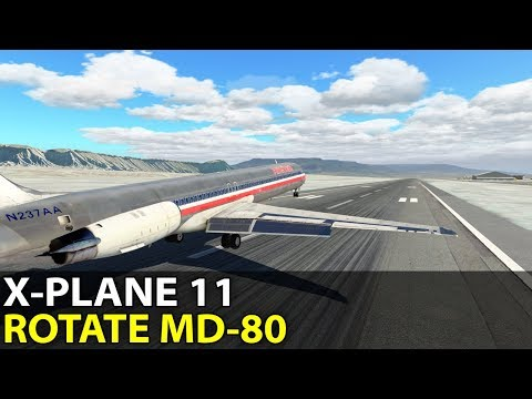The Post-PPL Life ;) Rotate MD-80 in X-Plane 11, PilotEdge ✈️ 2017-09-29