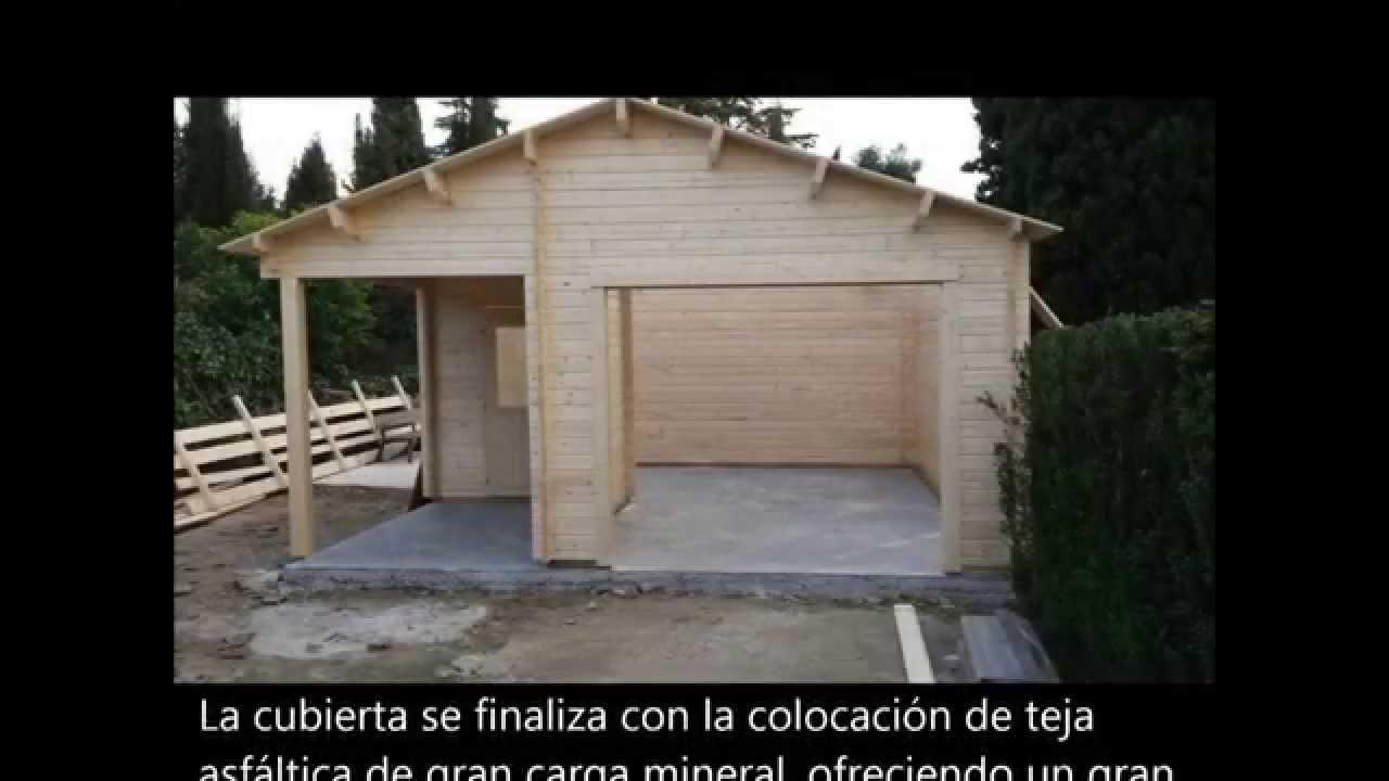 Casetas de madera exterior youtube - Caseta madera exterior ...