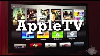 Apple TV - Présentation et explications (interface 2012)