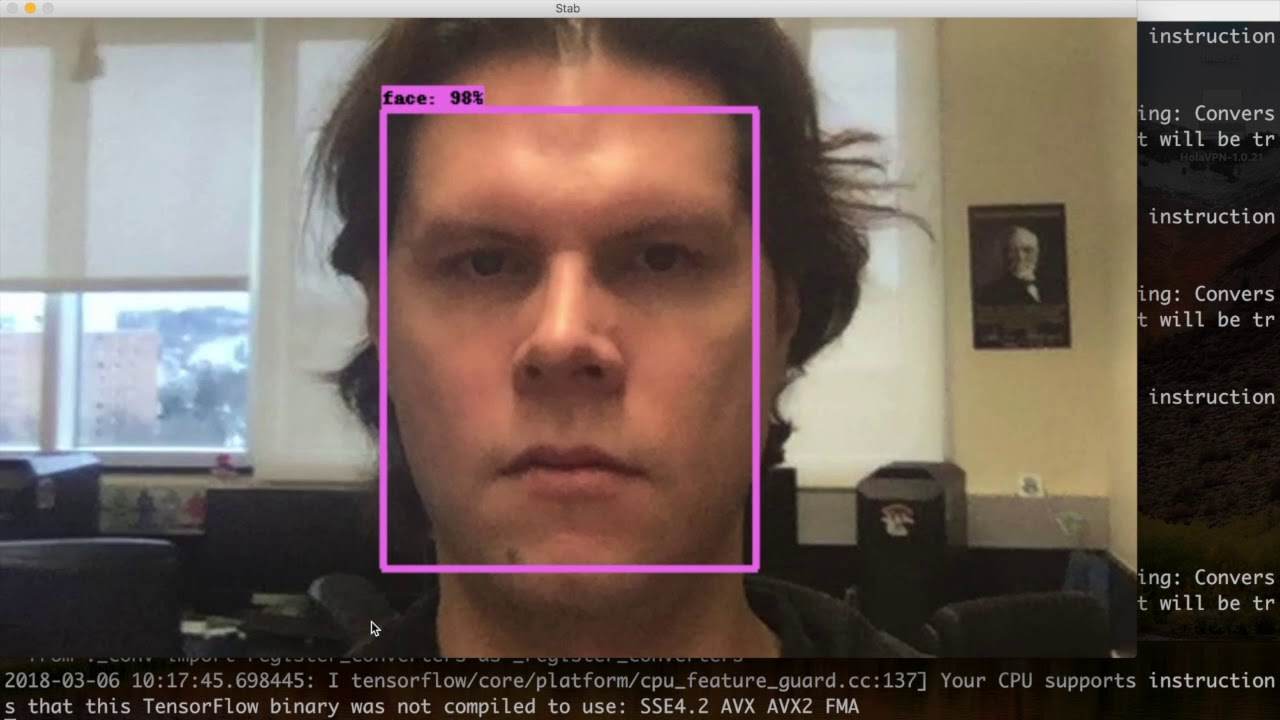 Deepstab: Real-time Video Object Stabilization tool by using