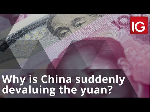 Why is China suddenly devaluing the yuan?