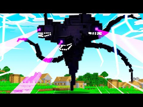 CREATING THE WITHER STORM MINECRAFT BOSS!