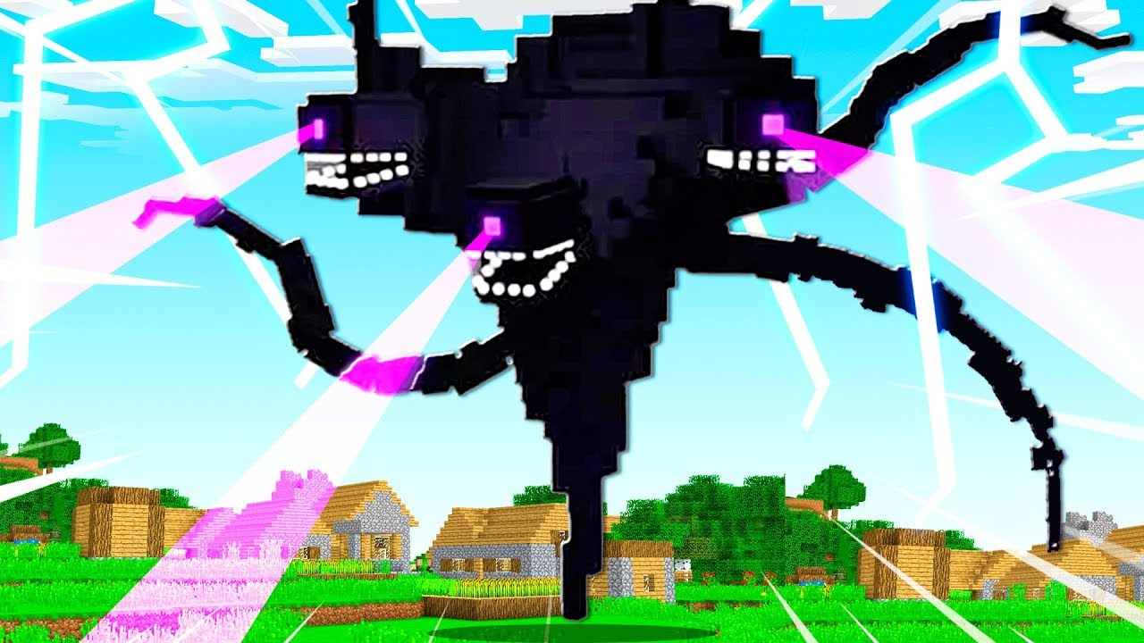 Creating The Wither Storm Minecraft Boss