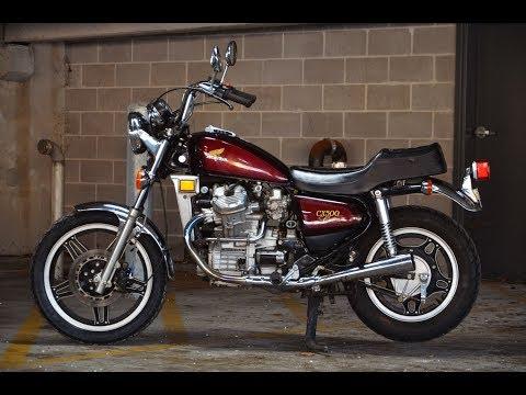 No Reserve: 1982 Honda CX500C Custom