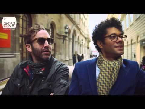Richard Ayoade & Chris O'Dowd in Vienna - Travel Man S02E01