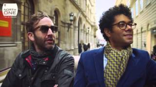 Richard Ayoade & Chris O'Dowd in Vienna - Travel Man S02E01