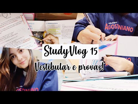 StudyVlog 15 (finalmente!!!!) | Vestibular, provas... | Ana's Studies