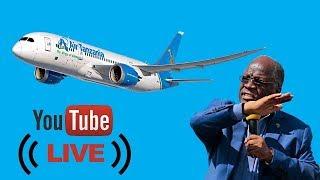 BREAKING: Shuhudia Rais Magufuli akipokea ndege ya pili aina ya Airbus