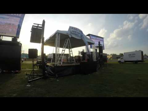 Mobile Stage, Sound, Stage Lighting, Backline And Location Power