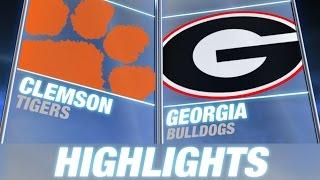 Clemson vs Georgia | 2014 ACC Football Highlights