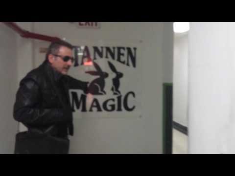 A visit to Tannen's Magic shop in New York City