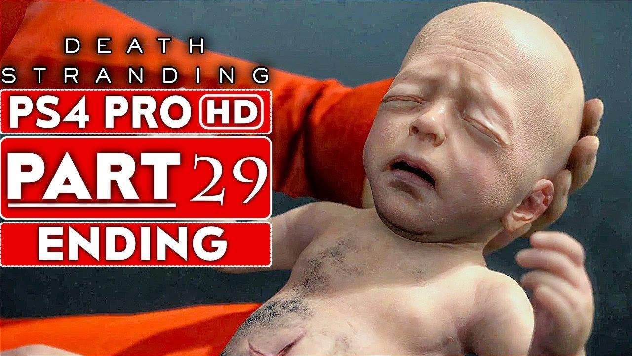 DEATH STRANDING ENDING Partie de la soluce 29 de Gameplay [HD PS4 PRO 1080p] - Pas de commentaire + vidéo