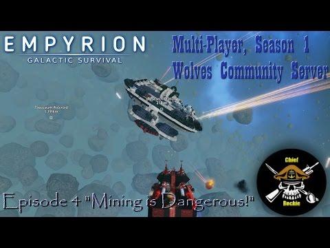"Empyrion Galactic Survival, MP S1 EP4 ""Mining is Dangerous!"""