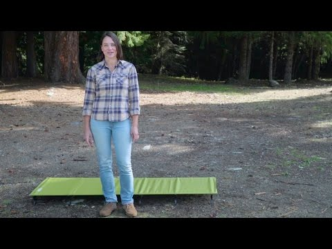 Therm-a-Rest UltraLite Cot™ Setup Instructions