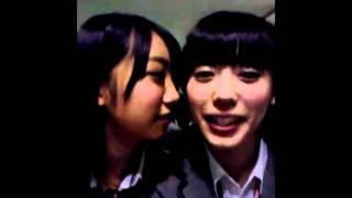 NMB48 研究生 山岸奈津美、肥川彩愛、上西恵(TeamN)、沖田彩華.