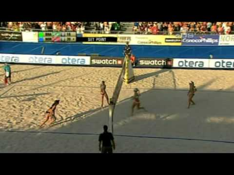 Salgado sisters eliminate Norwegians from Universal Sports