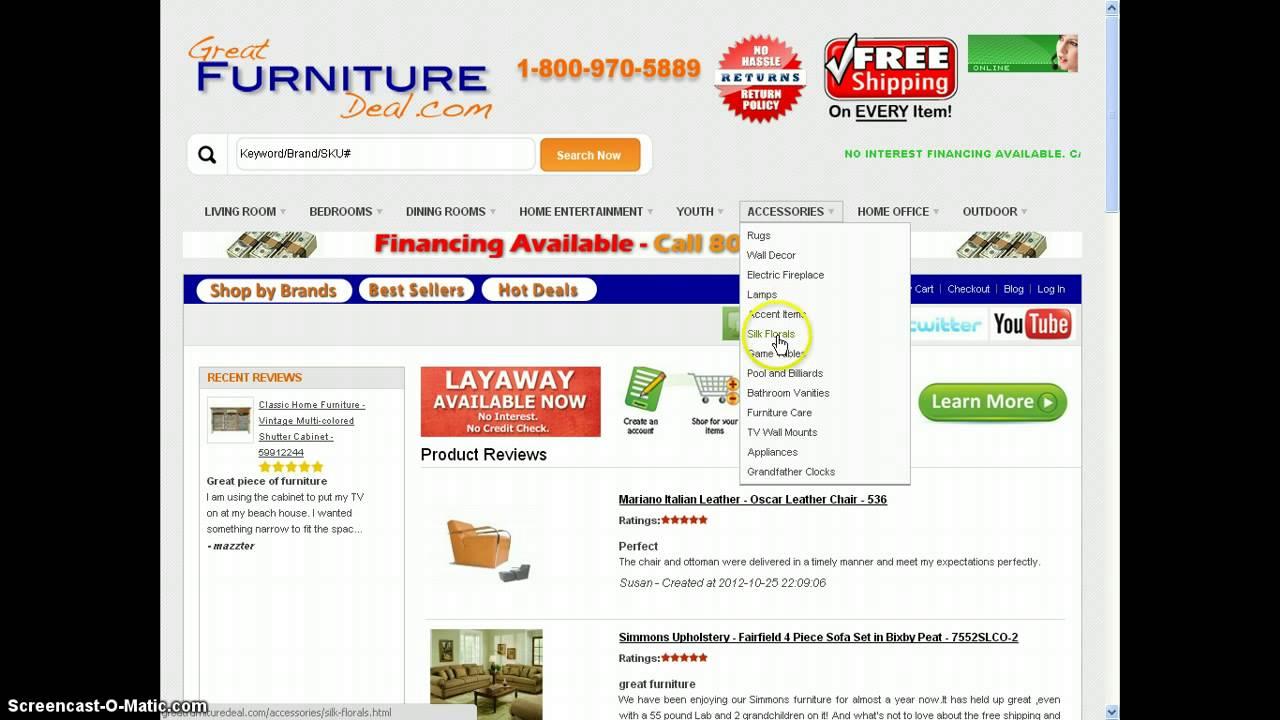 Greatfurnituredeal Reviews Customer Of