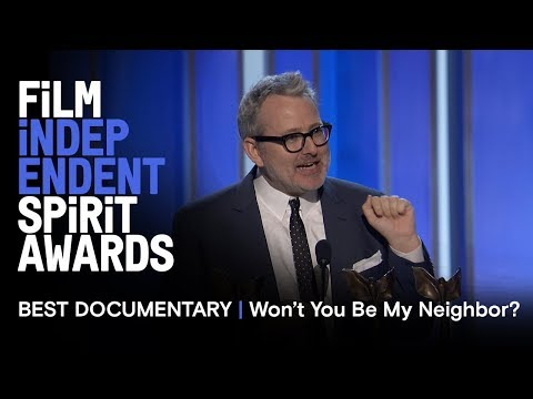 MORGAN NEVILLE wins Best Documentary for WON'T YOU BE MY NEIGHBOR? at the 2019 Spirit Awards Mp3
