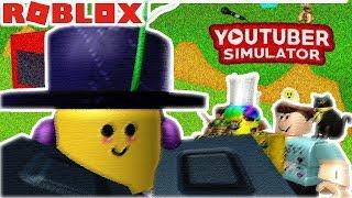 IM IN A ROBLOX GAME!!!! (youtuber simulator 2)