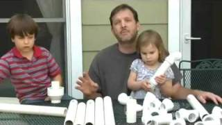 Father-son How To Pvc Project: Marble Moving Masterpiece - Video
