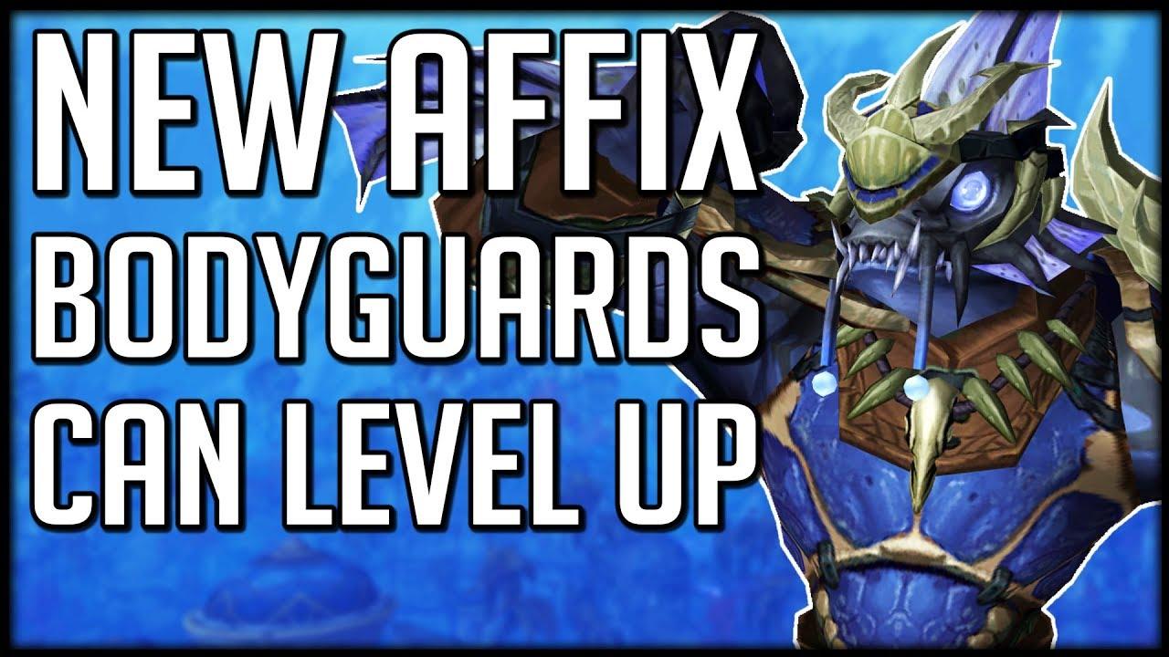 New Mythic Plus Affix Level Up New Nazjatar Followers Wow Bfa Youtube