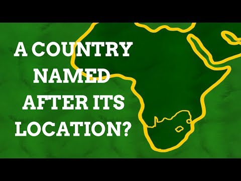 Why Is South Africa Named After Its Geographical Location?