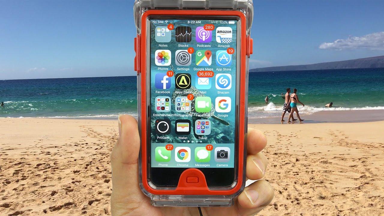 hot sale online f8053 aa51b Optrix Body Glove Underwater iPhone Housing - Just Amazing!