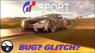 GT SPORT FUEL BUG? GLITCH? EXPLOIT? ANOTHER ISSUE