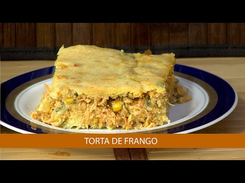 TORTA DE FRANGO E COUVE-FLOR GRATINADA