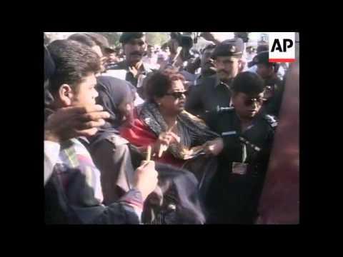 PAKISTAN: NAWAZ SHARIF HELD IN CUSTODY