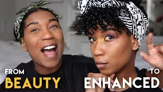 Watch Me Go From BEAUTY To Enhanced Beauty 😛 CHATTY GRWM | Hair + Makeup