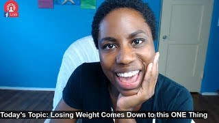 Losing Fat Comes Down to ONE Thing | Weight Loss Tips for Women