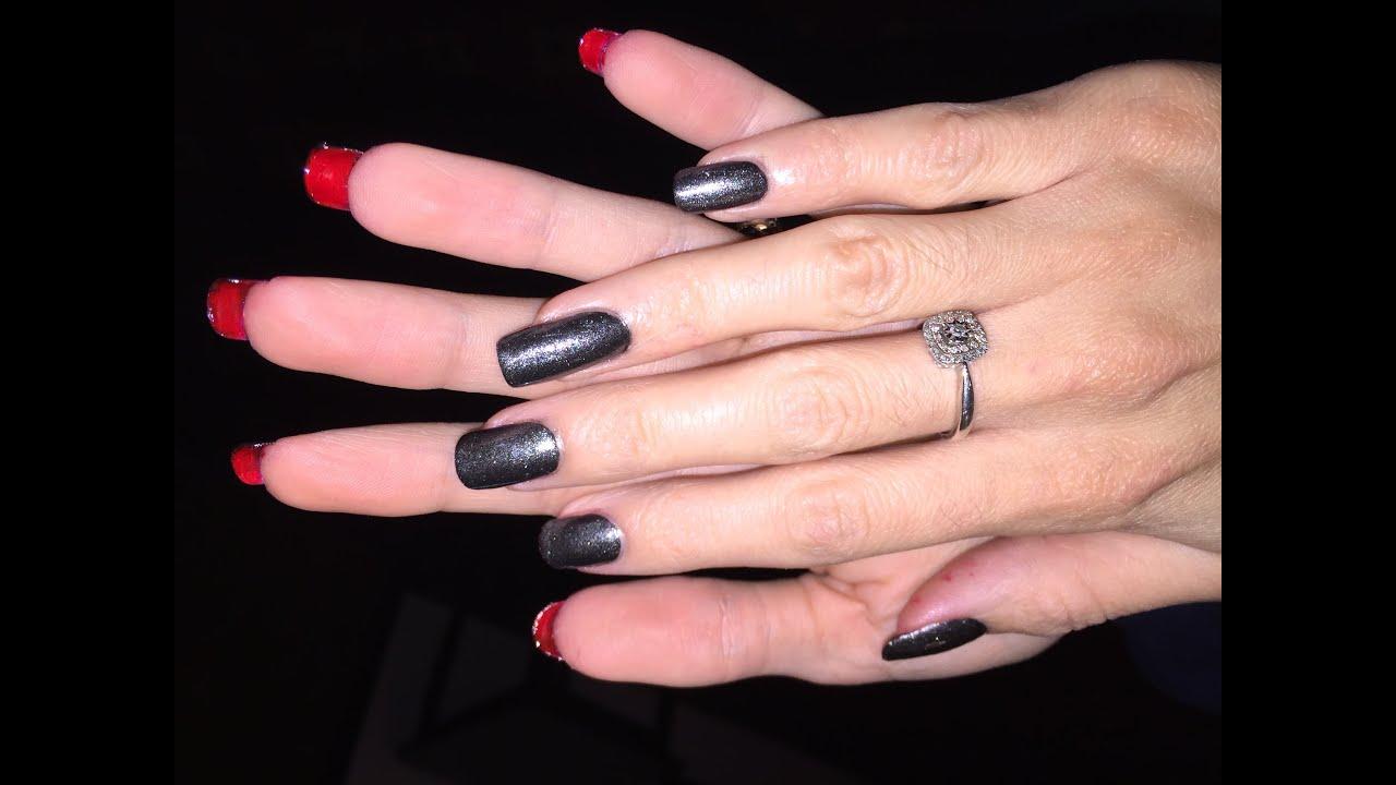 970b856d296 Red Bottom Nails Tutorial