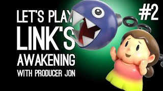 Link's Awakening Switch Gameplay: Link's Awakening with Producer Jon Pt 2 - BOW-WOW'S BIG DAY OUT