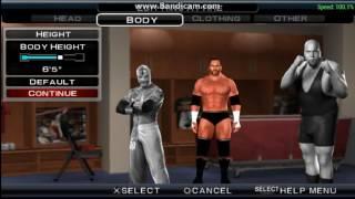 wie erstelle Triple H 2016 svr 2011 PSP - DQA -